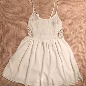 Jack BB Dakota Soft White Crepe Dress